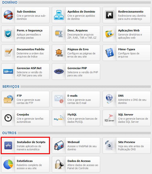 FireShot Screen Capture #014 - 'Painel de Controle' - painel_brasilservidores_com_domain